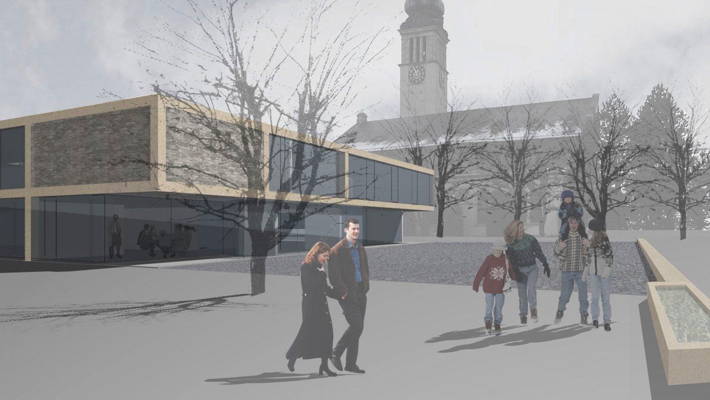 Gemeindesaal und kirchgemeindezentrum flawil cukrowicz nachbaur architekten - Oberlicht innenwand ...