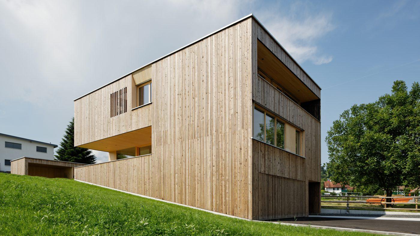 wohnhaus gh eschen cukrowicz nachbaur architekten. Black Bedroom Furniture Sets. Home Design Ideas